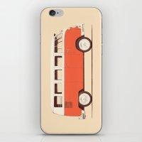 Red Van iPhone & iPod Skin