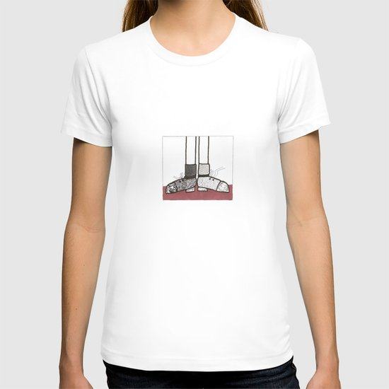 in my shoes T-shirt