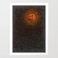 Ember & Warmth Art Print