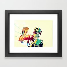 Dead Space Color Framed Art Print