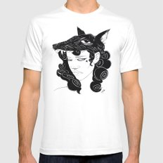 Romulus, Where is Remus? Mens Fitted Tee White SMALL