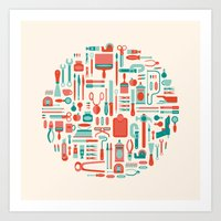Il Laboratorio Art Print
