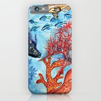 iPhone & iPod Case featuring Under the sea by GalaArt