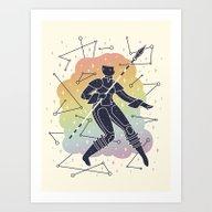 Rainbow Warrior Art Print
