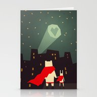 The City Needs Love Stationery Cards