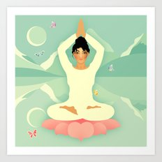 Sacred World: Yogini Art Print