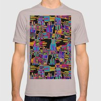 Colorful hands Mens Fitted Tee Cinder SMALL