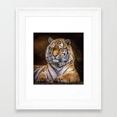 Majestic Tiger Framed Art Print