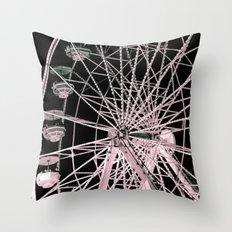 FairyWheel Throw Pillow