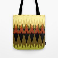 living in the woods Tote Bag