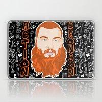 Action Bronson Portrait Laptop & iPad Skin