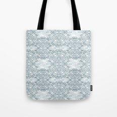 Lace Geometric // Kaleidoscope of blues Tote Bag