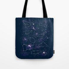 Star Ships Tote Bag