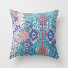 jemez in opal Throw Pillow