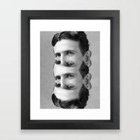 Teslation Framed Art Print