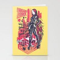 Urban Angel Stationery Cards