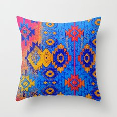 jemez in salivate Throw Pillow