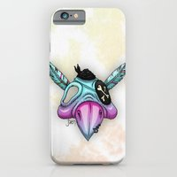 iPhone & iPod Case featuring Psittaskull by Jæn ∞