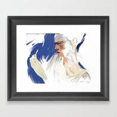 Tweeze Framed Art Print