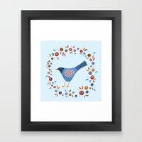 March Bird Framed Art Print