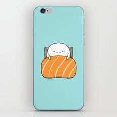 sleepy sushi iPhone & iPod Skin