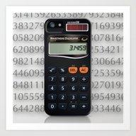 Smartphone Calculator Art Print