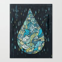 If Heaven Were A Drop Of… Canvas Print