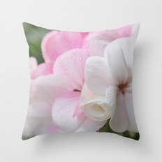 The Wedding Flowers Throw Pillow