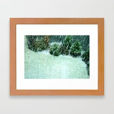 Fall In Calgary Framed Art Print