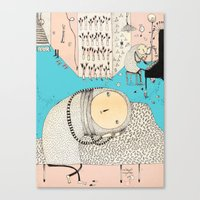 My daily life. Canvas Print