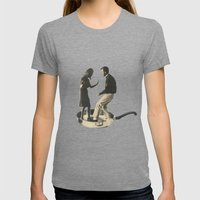 Shake Womens Fitted Tee Tri-Grey SMALL