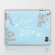 'Ease and Grace' Laptop & iPad Skin