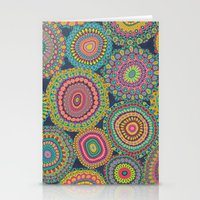 Boho Patchwork-Eden Colo… Stationery Cards