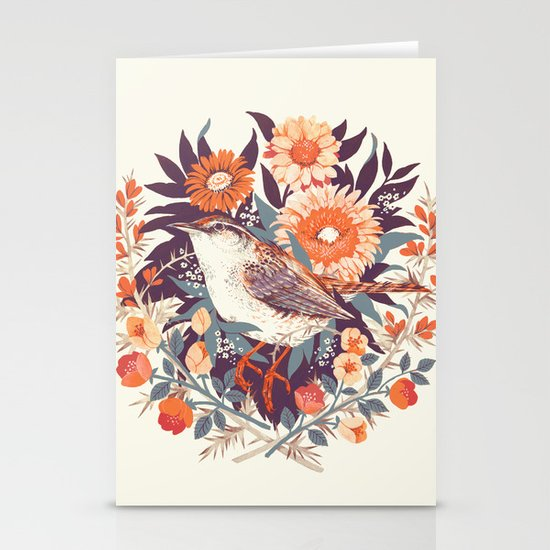 Wren Day Stationery Card