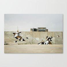 Diagonal Mar Canvas Print