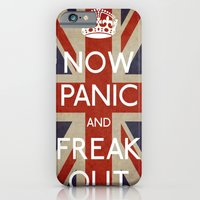 NOW PANIC AND FREAK OUT iPhone 6 Slim Case
