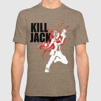 KILL JACK - SIREN Mens Fitted Tee Tri-Coffee SMALL
