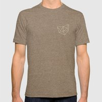 Geo Mens Fitted Tee Tri-Coffee SMALL