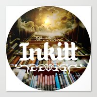 Inkitt empowers authors to become the kings and queens of the universe Canvas Print