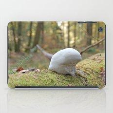 Smurf hat mushroom iPad Case