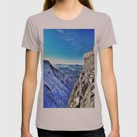 Mont-Blanc-France Womens Fitted Tee Cinder SMALL