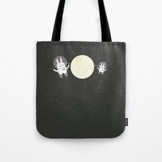 Astro Bunnies Tote Bag