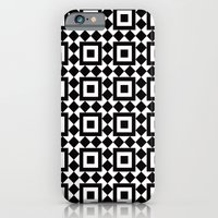 Victorian tile pattern #1 iPhone 6 Slim Case