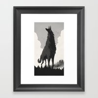 Walking Tall Framed Art Print