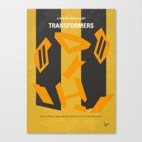 No540 My Transformers Mi… Canvas Print
