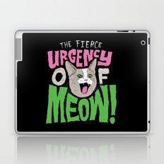The Fierce Urgency of Meow! Laptop & iPad Skin