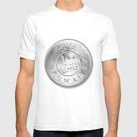 100 Fils Mens Fitted Tee White SMALL