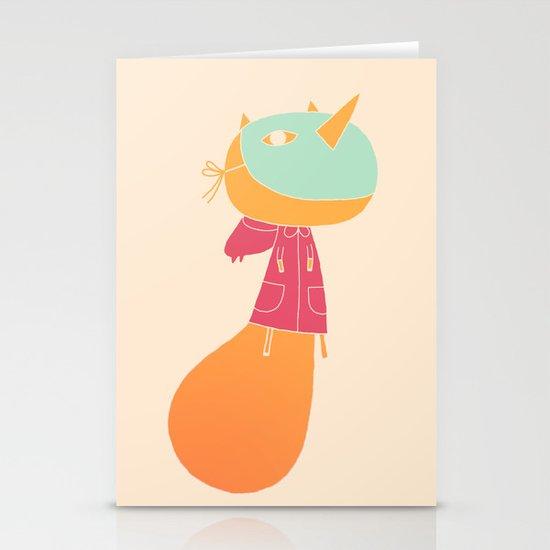 pivoine Stationery Card