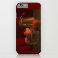 iPhone & iPod Case featuring Still life with peaches by Megs stuff...
