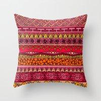 Yzor Pattern 013 Summer … Throw Pillow